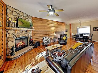 Country Home | Huge Wraparound Porch with Big Views | Near Hendersonville