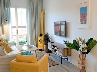 AAY-Best Apart CorfuTown&Sea,2BR/Renovated+lift/Comfy&Design+WiFi/Netflix