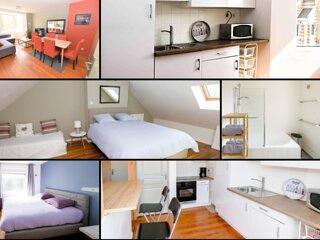 Appartement 6 personnes Dunkerque plage - Wifi et parking gratuits