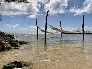 Stunning Beachfront Property. Pool, Caretaker, Gourmet Kitchen