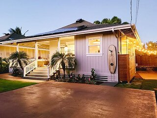 Hale Kolea 40' from Baby Beach has gorgeous views, a/c, updated