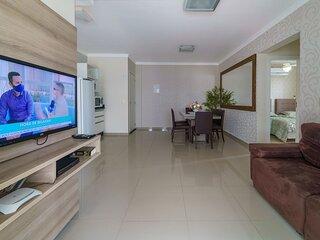 Aluguel de Apartamento 2 quartos sendo 1 suíte p 6 pessoas em Bombas SC