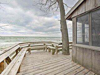 NEW! Lake Michigan Waterfront Home: 1 Mi to Dtwn!