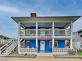 9th Street Beach Retreat | 4 Private Units | Walk to Ocean, Bay & Boardwalk