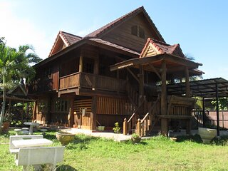 Artist Working Space & House (Thai Northern Style with huge free garden space)