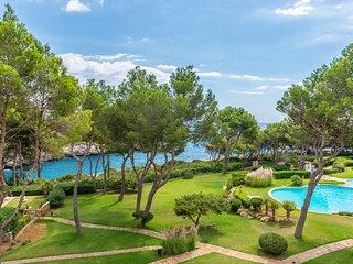 Apartamento Can Verd con vistas al mar, piscinas y jardin, playa 100m