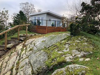 Beautiful new 2 bed lodge in Kippford, Dalbeattie.