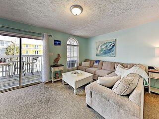 All-Suite Basecamp w/ Balcony - Walk 2 Minutes to Beach, Near Restaurants!