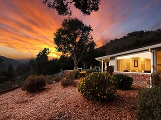 'The Lodge' A Wine Country Paradise | Mountain-View Estate