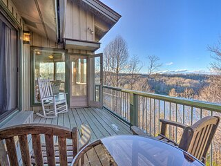 NEW! Brevard Home w/ Panoramic Lake & Mtn Views!