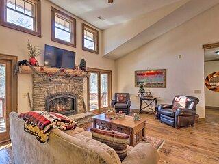 NEW! Lavish Sapphire Valley Home: Ski, Swim, Golf!