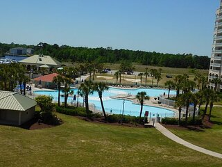 Spectacular Waterway Views in This Spacious 2BR at Yacht Club Villas!