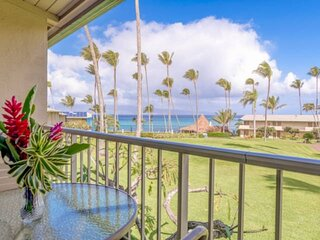 Napili Shores G-254 ocean view studio.  Nicely upgraded with air conditioning!