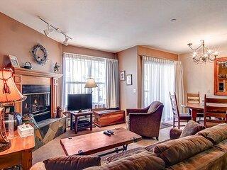 River Mountain Lodge 318W Condo: Ski-In, Downtown Breck!