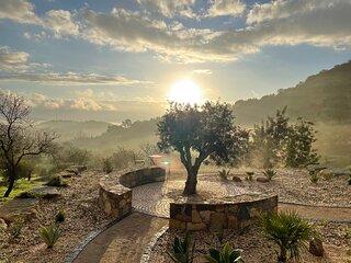 Casa Olivia - Charming renovated farmhouse with panoramic views