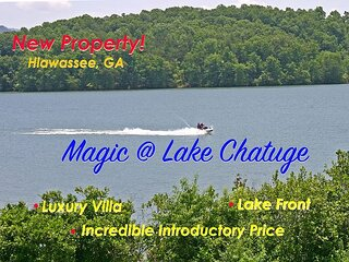 NEW! Magic * Lake Chatuge is Wonderland for Water Afficionados