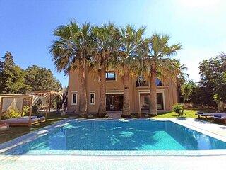 Luxury Mansion Rhodes, Ialysos, Private Pool, 5 Bedrooms