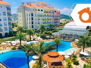 Studio com melhor vista de resort Jurere ILC3412