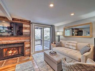 Cozy Banner Elk Studio w/ Deck - 1 Mi to Skiing!