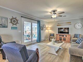 NEW! Newly Renovated Home ~ 3 Mi to Bethany Beach!