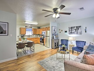 NEW! Cozy Home < 2 Mi to Downtown Hot Springs!