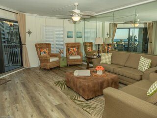 IR 216 is a Completely Updated 2 BR Sunset View unit with over 1300 sf