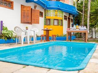 Casa em residencial de ferias - piscina e praia