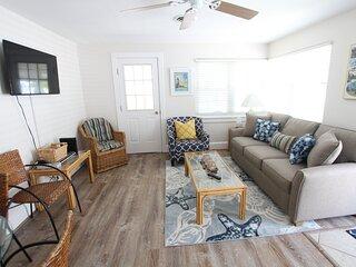 Second floor, ocean block condo with open concept kitchen!