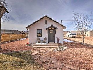 NEW! Modern Kanab Cottage w/ View < 1 Mi to Hiking