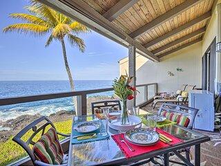 NEW! Airy Oceanfront Kailua-Kona Gem w/ Pool & A/C