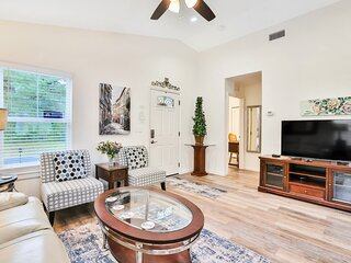 Comfortable, family-friendly home with central AC & WiFi - remote work friendly!