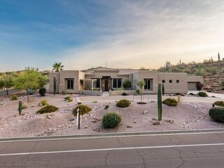Desert Paradise | Home Office & Workout Area | Backyard Oasis with Pool