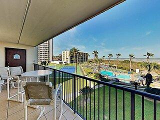 Saida II Corner Unit|Private Gulf-View Balcony|Pools, Hot Tubs & Tennis