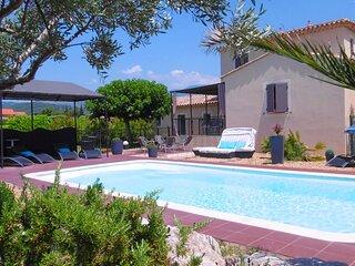 Villa Zen Attitude - Piscine - Vue au pied du Mont Ventoux