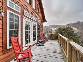 NEW! Mountainside Vilas Home: Hike, Ski & Explore!