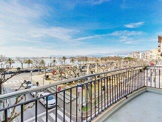 Apartamento en 1º linea  de playa en Roses  en alquiler-PC MIGJORN