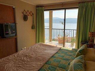 Departamento de un dormitorio frente a la Playa Chica