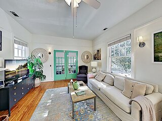 Drayton Place 3 | Walkable Starland District Retreat | Private Screened Porch