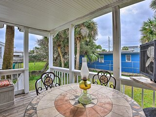 NEW! Cozy Coastal Escape w/ Yard, 1 Block to Beach