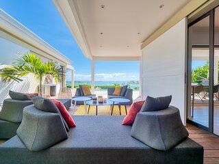 Villa Au fil de l'Eau- SEA VIEW- MINIMALIST DESIGN