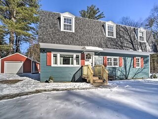 NEW! Cozy Great Barrington Home 1 Mi to Ski Resort