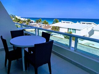 Beachfront Caribbean Sea Condo