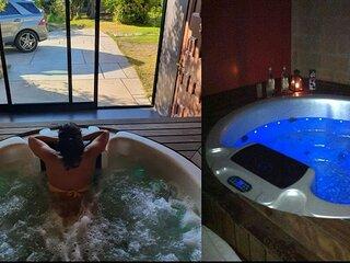 Preciosa Casa Rural con piscina y jacuzzi