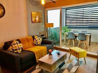 Appartement cosy en bord de mer