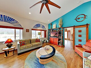 Modern Gated Charmer | 2 Suites on 3 Acres | Minutes to Joshua Tree Park