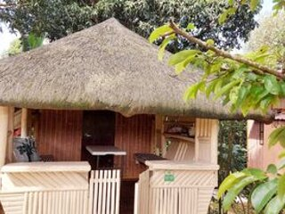The Kubo Room offers comfort with a glamping feel.