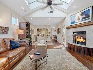 Ocean-View Dream | Rooftop Deck & Balcony with Fireplace | Garage & Elevator