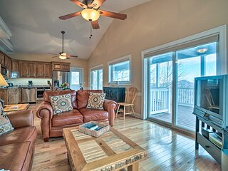 NEW! Lake-View Condo w/ Covered Deck in Hiawassee!