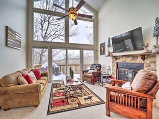 NEW! Expansive Ski Home < 1 Mi to Beech Mtn Resort