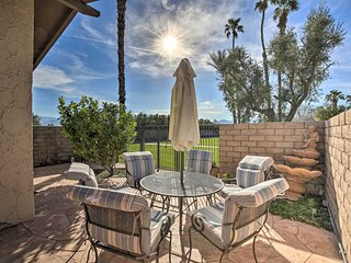 NEW! Serene Country Club Condo ~ 1 Mi to Coachella